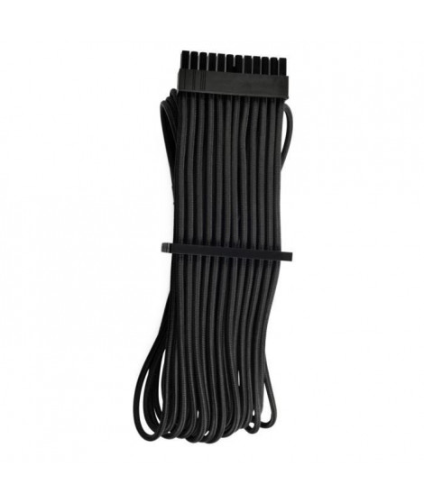 CORSAIR Câble ATX 24 broches a gainage individuel CORSAIR Premium - Noir (CP-8920229)