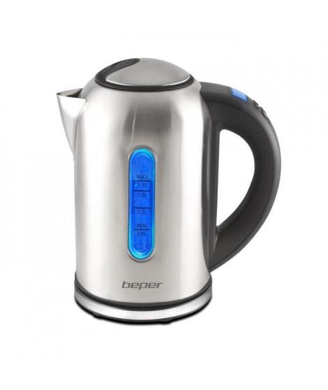 BEPER 90840 Bouilloire avec sélecteur de température - Argent