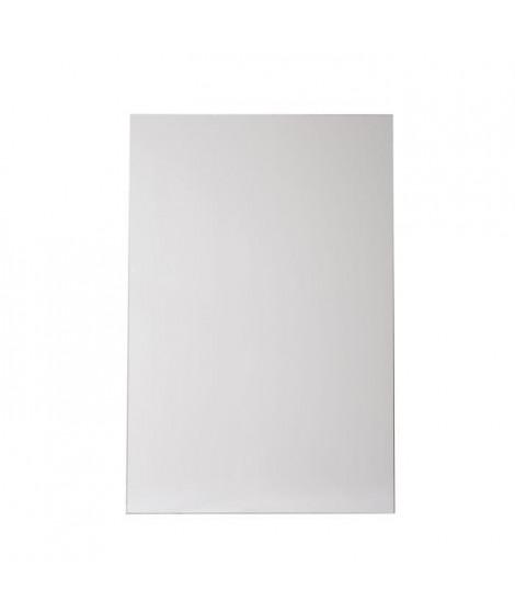 NORDLINGER PRO Plaque composite - Aluminium - 80 x 120 cm 3/0,15 mm - Blanc