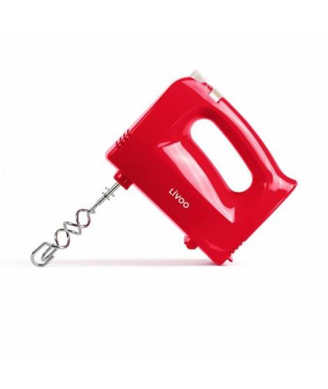 LIVOO DOP162R Batteur électrique - Rouge