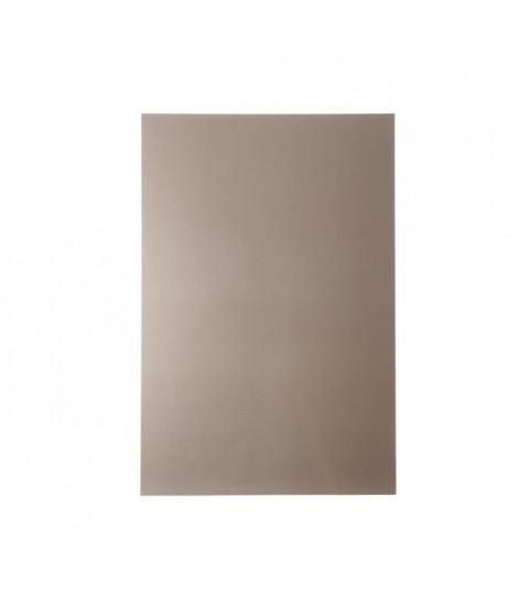 NORDLINGER PRO Plaque composite - Aluminium - 80 x 120 cm 3/0,15 mm - Champagne