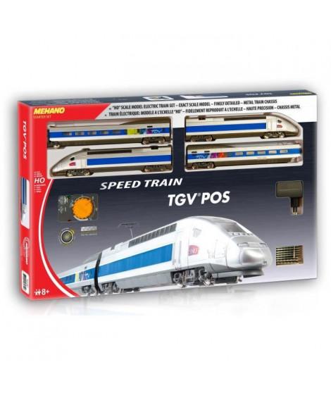 MEHANO Coffret de train TGV POS - Circuit de 3,35 m