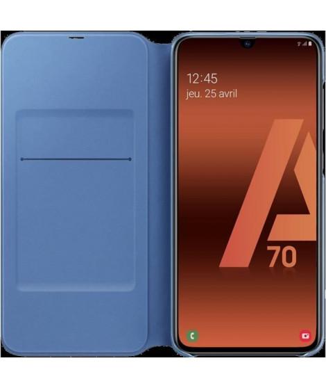 Flip Wallet Galaxy A70 Noir