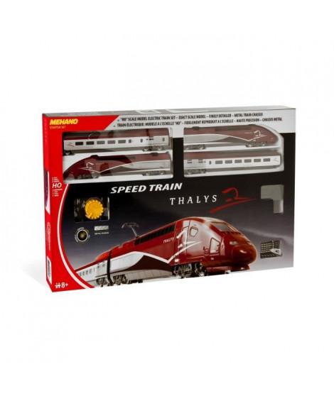 MEHANO Coffret de train TGV THALYS - Circuit de train électrique 3,35 m