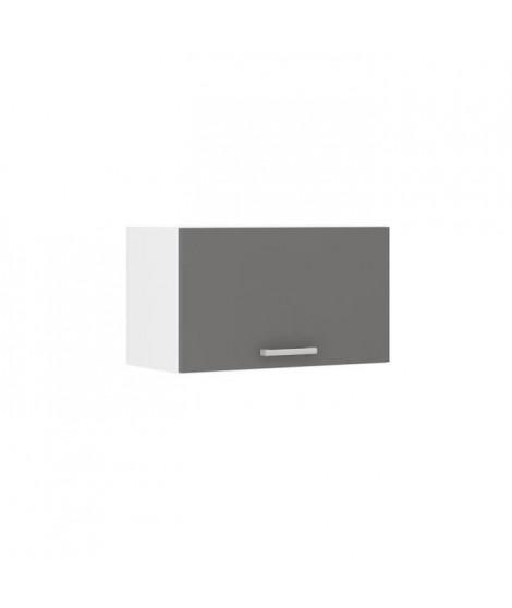 ULTRA Meuble hotte de cuisine L 60 cm - Gris
