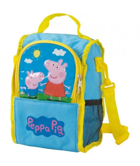 Fun House Peppa Pig sac bandouliere isotherme pour enfant