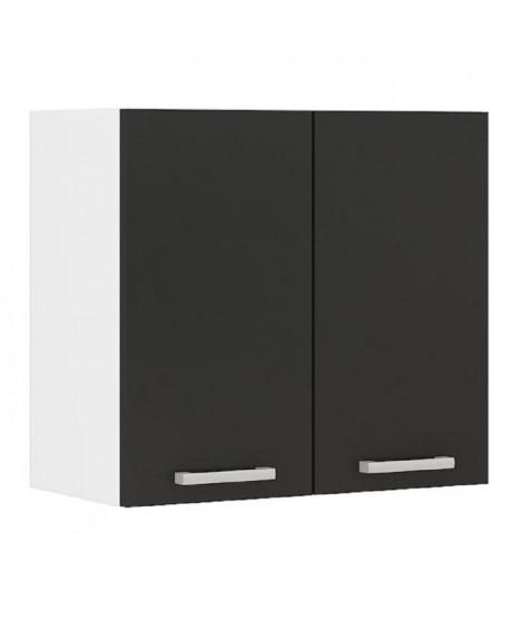 ULTRA Meuble haut de cuisine L 60 cm - Noir