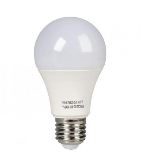 EXPERTLINE Ampoule LED E27 standard 5 W équivalent a 60 W blanc froid