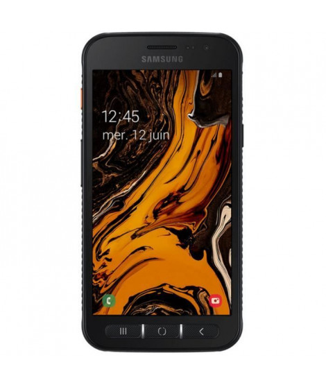 SAMSUNG Smartphone Galaxy Xcover 4s SM-G398FN/DS 32 Go - 4G - Écran 12,7 cm (5) HD - 3 Go RAM - Android 9.0 Pie - Noir