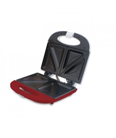 BEPER 90.640H Machine a sandwish - 700 W - Blanc et Rouge