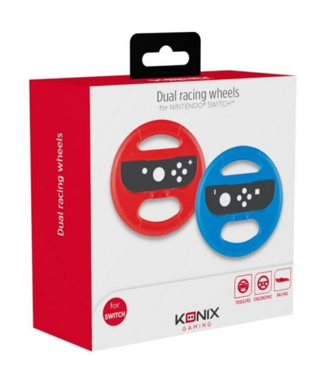 2 Volants Konix pour Joy-cons Switch