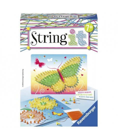 STRING IT mini Butterflies Suivez La tendance du String Art ! Ravensburger