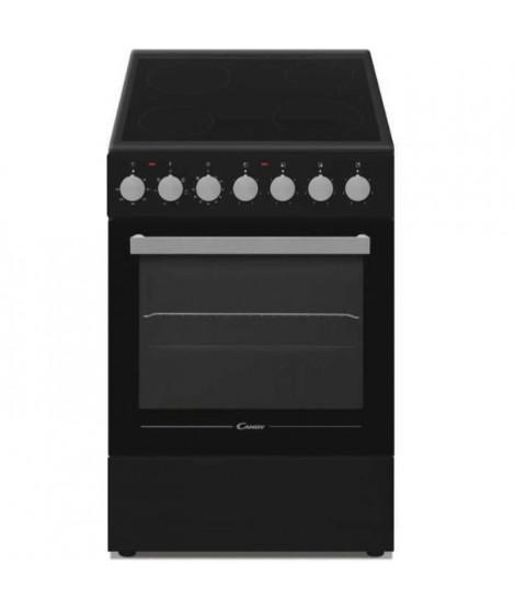 CANDY - CCVM513NB/E - Cuisiniere Vitrocéramique - 4 foyers - Four Electrique - 43L - A - Noir