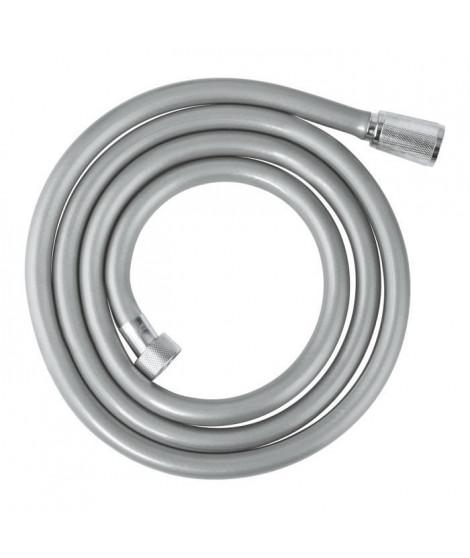 GROHE Flexible douche Rotaflex 1750 - Anti-torsion - 1,75 m - Gris argenté