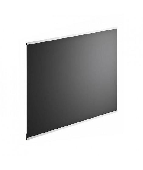 Fond de hotte en verre de 5mm d'épaisseur - Noir - 60x70cm