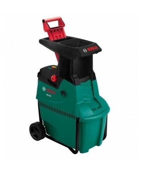 BOSCH Broyeur de végétaux électrique 2200 W AXT 22 D - Bac 53 L