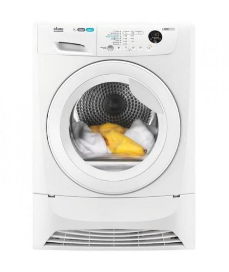 FAURE - SeCHE-LINGE:Pompe a chaleur - Capacité maxi de séchage:8 kg - Classe énergétique*:A++ - Efficacité de condensation*:B…