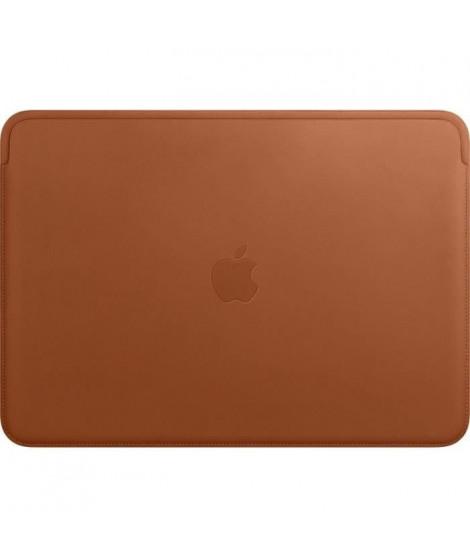 Housse en cuir pour MacBookAir et MacBookPro 13pouces - Havane