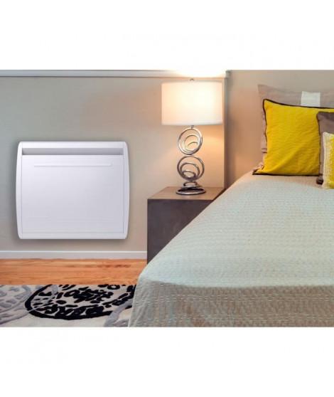 MAZDA 1000 watts Radiateur électrique a inertie - Chaleur Douce - Double technologie : Inertie céramique + Film - Programmati…