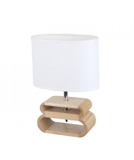 COREP Lampe a poser Oslo Lin B - Empilement bois