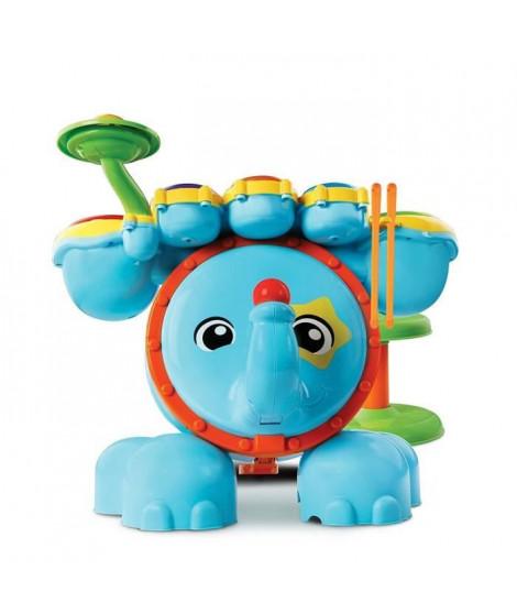 VTECH BABY - Jungle Rock - Batterie Eléphant - Jouet Musical Enfant