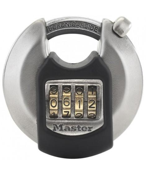 MASTER LOCK Cadenas disque extérieur a combinaison - Haute sécurité - Anse protégée