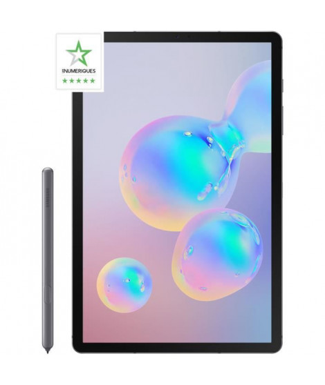 SAMSUNG Tablette Tactile - Galaxy Tab S6 Wi-fi - 10,5 - RAM 8Go - Stockage 256Go - Android Pie 9.0 - Gris Titane