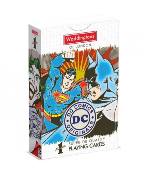 WADDINGTONS N°1 - Dc Comics - Jeu de 54 cartes