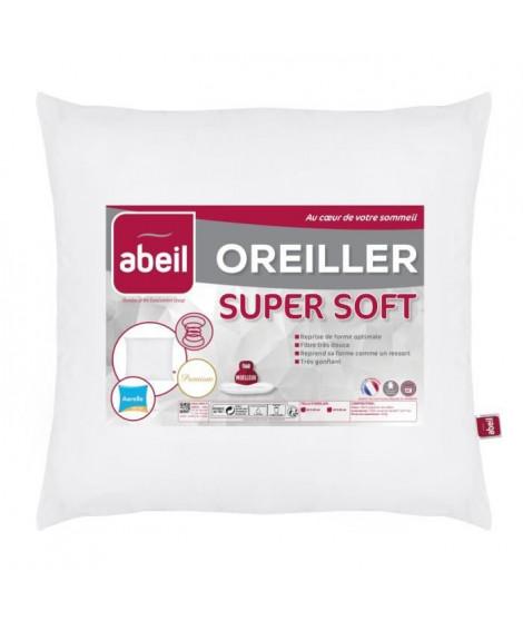ABEIL Oreiller moelleux SUPERSOFT 60x60cm