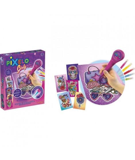 LANSAY Pixelo Jeu de coloriage Coffret girly - Mixte - a partir de 6 ans
