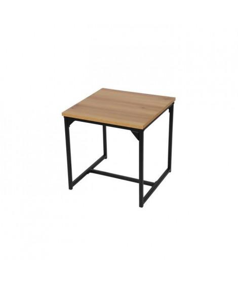 FINLANDEK Table basse / Bout de canapé TEOLLINEN Style industriel - L 40 cm