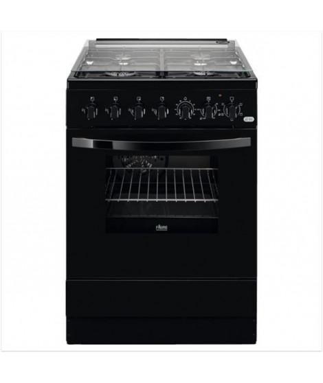 FAURE FCK6524CBA - Cuisiniere table gaz -  4 zones - four électrique - Chaleur brassée - Catalyse  - A - 57L - L60 x H 85 cm …