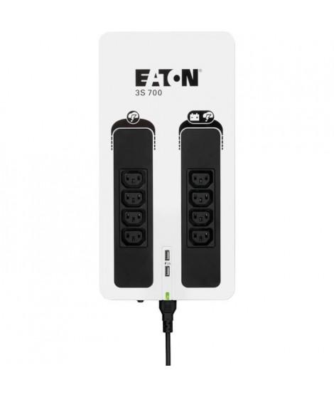 EATON 3S 700 IEC Onduleur, multiprise, parafoudre - 8 prises