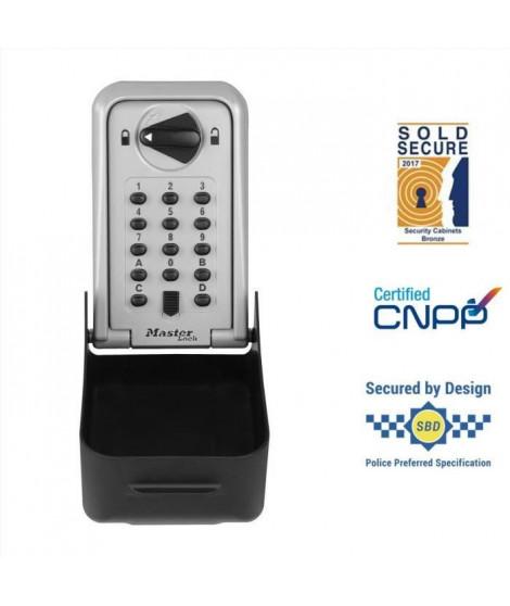 MASTER LOCK Boite a clés sécurisée certifiée - Format XL - Coffre a clé - Sécurité Professionnelle