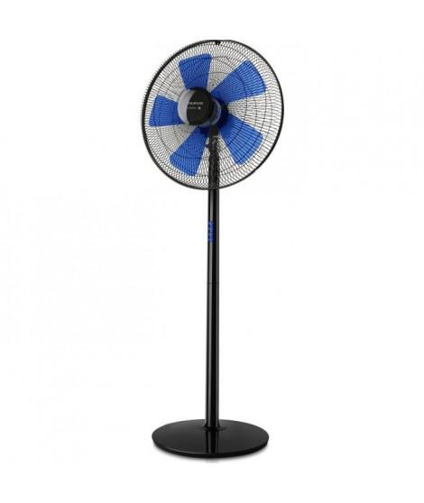 TAURUS Ventilateur sur pied Boreal 16 C Elégance - Ø 40 cm - Noir et bleu