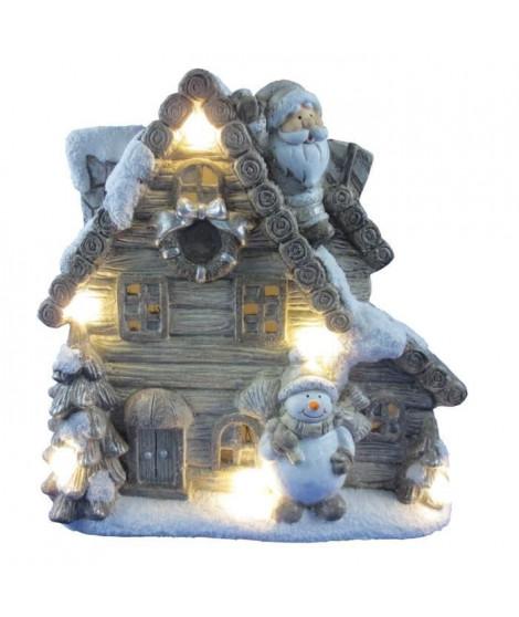 Maison des Contes de Fées 6 LEDs -16x34x35 cm - Multicolore magnésie