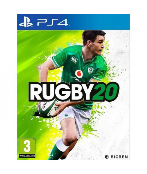 RUGBY 20 Jeu PS4