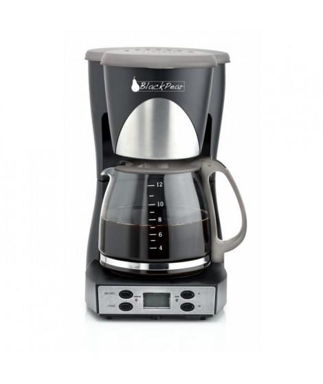 BLACK PEAR BCM 950 Cafetiere programmable 10/12 tasses 1000W