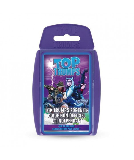 Top Trumps Fortnite guide non officiel et indépendant - Version française