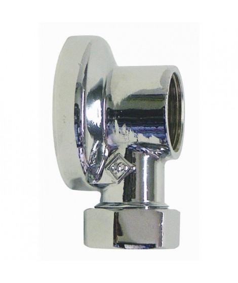 SOMATHERM Applique machine a laver - Chromée 1/2 - Tube Ø 14 mm
