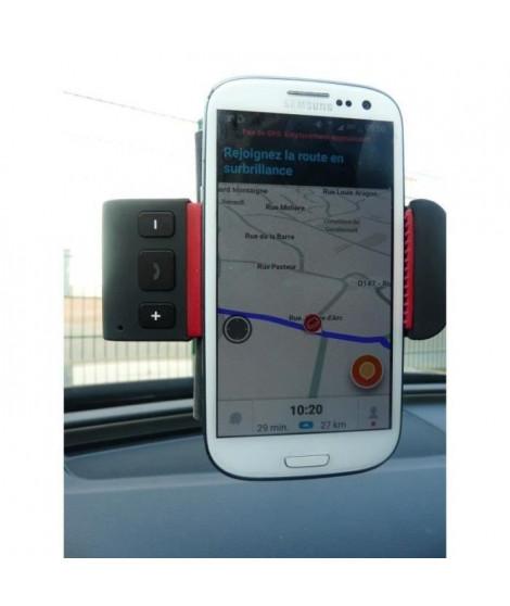 M500 Porte téléphone Kit Main Libre Bluetooth - Fixation Ventouse
