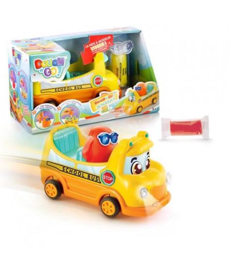 DOUGH'N GO Bus scolaire et personnage en pâte a modeler a créer - DP 036