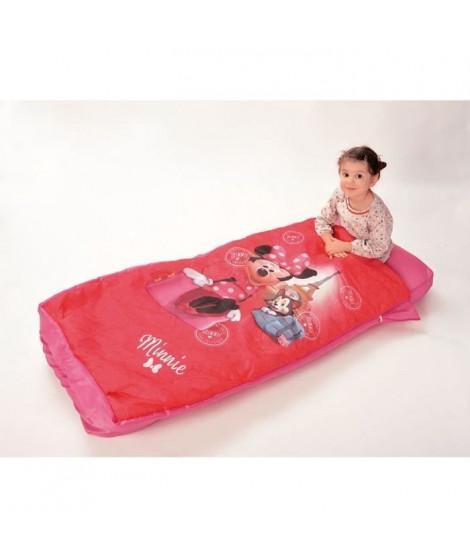 Fun House Disney Minnie lit avec matelas gonflable et duvet pour enfant