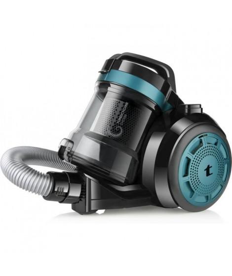 TAURUS Exeo Compact Aspirateur sans sac - 700 W - Capacité 2 L - Bleu