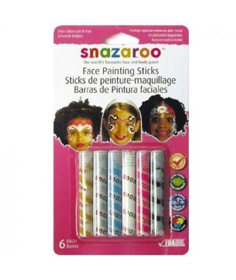 SNAZAROO Sticks peinture pour visage filles