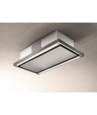 ELICA PRF0141953 - Hotte de plafond Cloud seven IX / F / 90 - Recyclage - 760 m³ air / h max - 3 vitesses - L 90 cm - Inox
