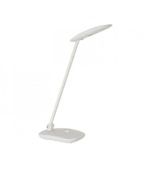 GLOSSY Lampe de bureau orientable en plastique injecté - H38 cm - Blanc