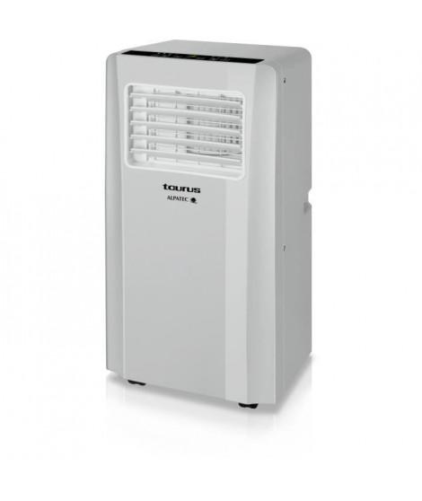 Climatiseur mobile réversible gris clair 2600 W