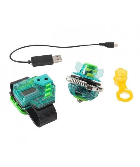 INFINITY NADO Toupie électronique avec montre de contrôle - Skyshatter Fiend