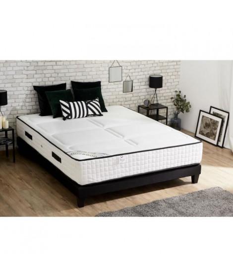 CONFORT DESIGN Matelas 160x200 - Mousse Haute Résilience Bi-confort - 30cm - Ferme et Equilibré - HOTEL LUXE